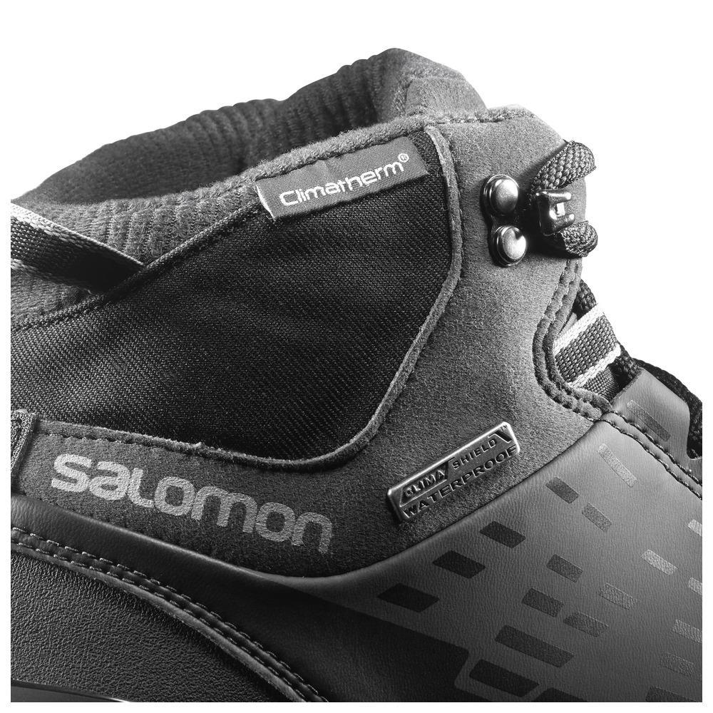 salomon kaïpo mid gtx uomo scarpe invernali grigio elaia