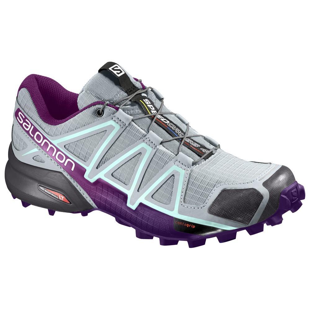 3e1e76c04f91 Salomon - Speedcross 4 W Donna Scarpe running Grigio