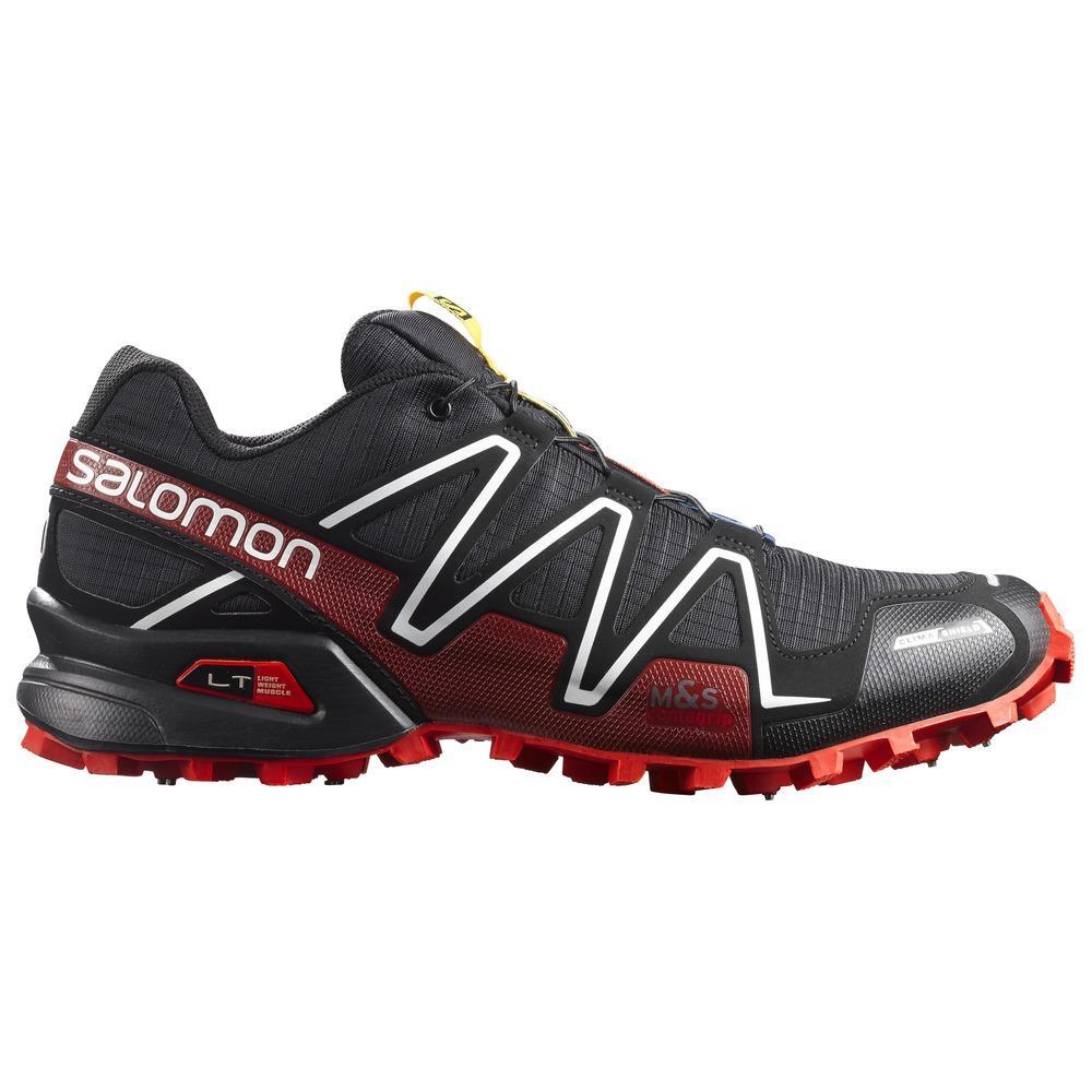 Scarpe Salomon Spikecross 3 CS nero rosso