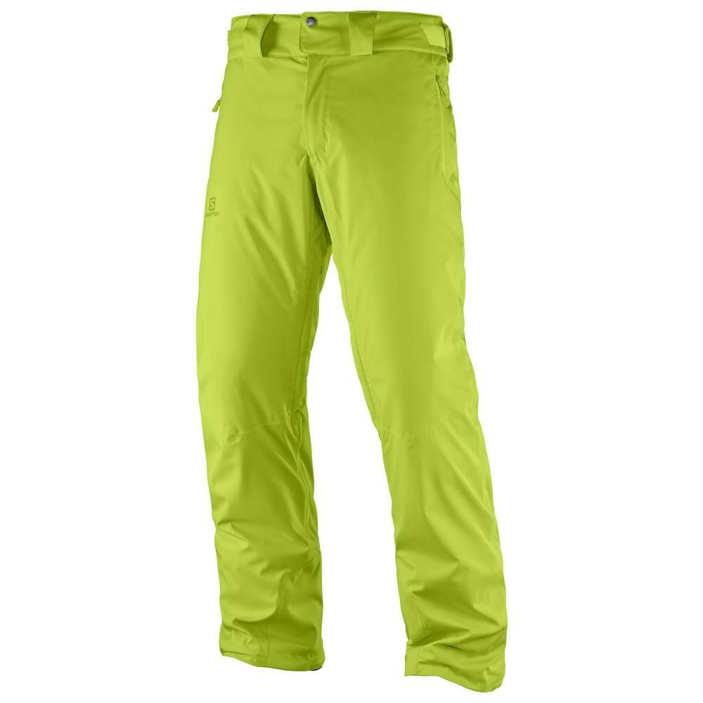 Salomon - Stormrace Pant M Uomo Pantaloni Verde  055a70e4c48
