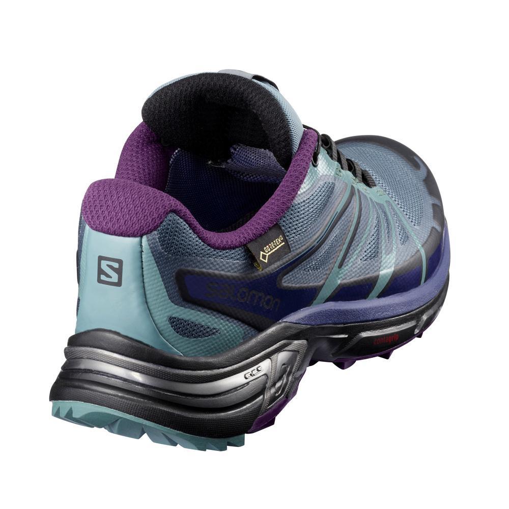 Salomon - Wings Pro 2 Gtx® W Donna Scarpe running Grigio  cb72e5da120
